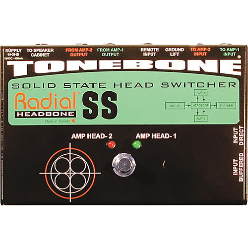 Radial Engineering Tonebone Headbone SS Switcher for Solid-State Amps