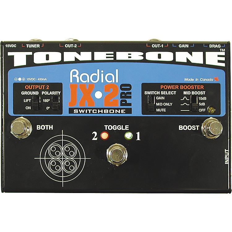 Radial Engineering Tonebone JX-2 Pro Switchbone