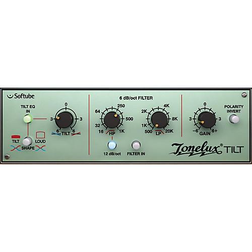Softube Tonelux Tilt EQ Plug-in - TDM Software Download
