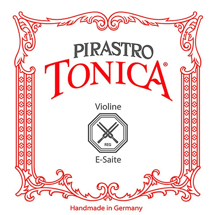Pirastro Tonica Series Violin E String 4/4 Size Steel / Aluminum Weich Ball End