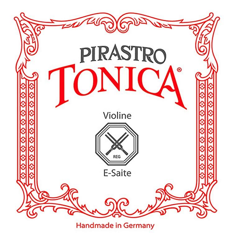 PirastroTonica Series Violin E String4/4 Size Silvery Steel Medium Loop End
