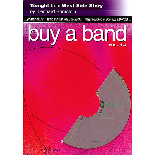 Hal Leonard Tonight (from West Side Story) (Buy a Band No. 14) Instrumental Series CD-ROM-thumbnail