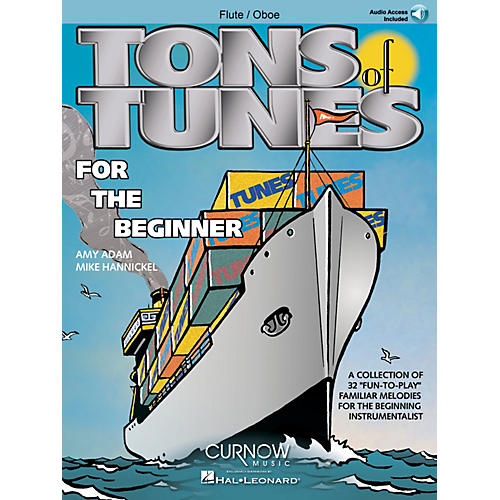 Curnow Music Tons of Tunes for the Beginner (Flute/Oboe/Violin - Grade 0.5 to 1) Concert Band Level .5 to 1-thumbnail