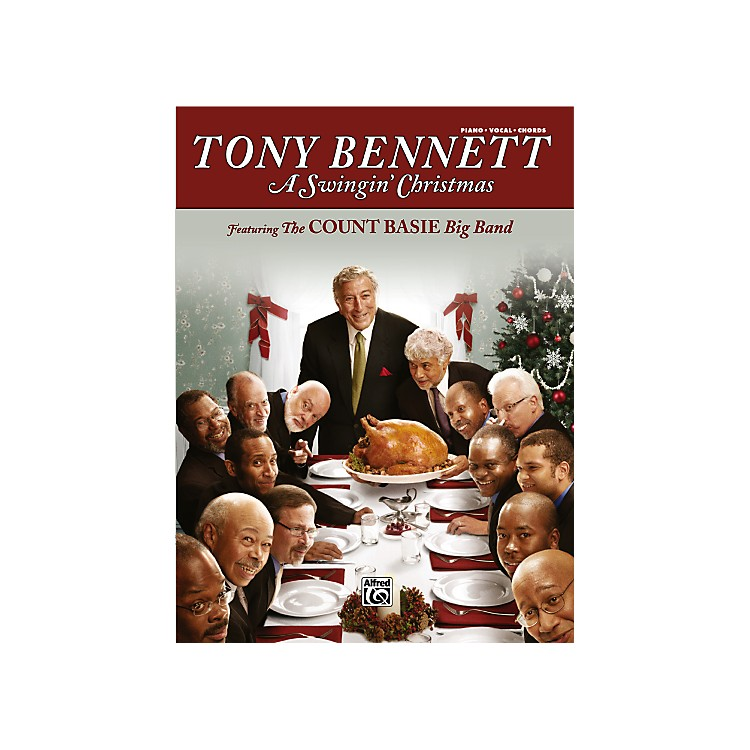 Alfred Tony Bennett A Swingin' Christmas PVC Book
