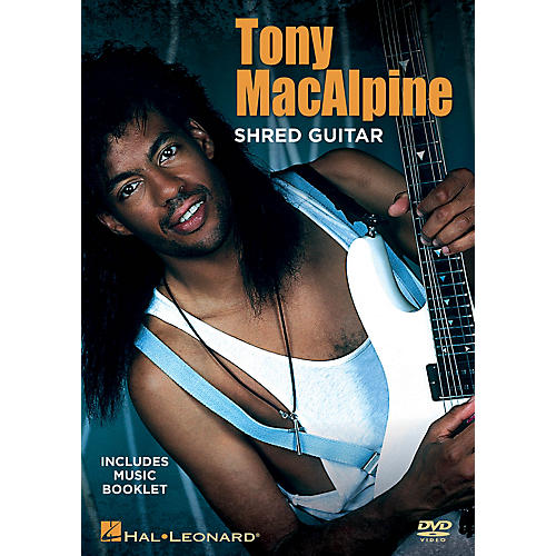 Hal Leonard Tony MacAlpine - Shred Guitar DVD Series DVD Written by Tony MacAlpine-thumbnail