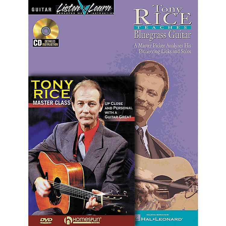 HomespunTony Rice Guitar Pack (Book/CD/DVD)