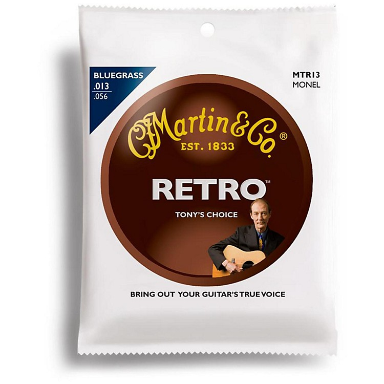 Martin Tony Rice Signature Acoustic Guitar Strings (013-056)