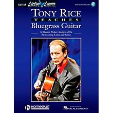 Hal Leonard Tony Rice Teaches Bluegrass Book/CD Package