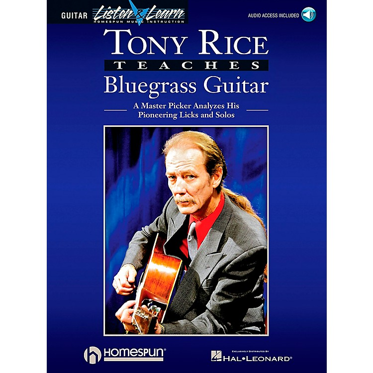 Hal Leonard Tony Rice Teaches Bluegrass Book/CD Package