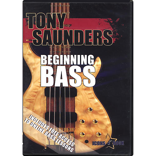 Music Star Productions Tony Saunders: Beginning Bass DVD