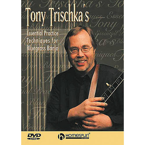 Homespun Tony Trischka's Essential Bluegrass Banjo DVD