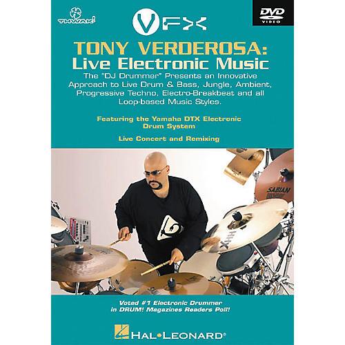Hal Leonard Tony Verderosa - Live Electronic Music (DVD)