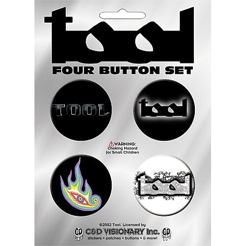 C&D Visionary Tool 4-Piece Button Set