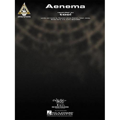 Hal Leonard Tool: Aenema Guitar Sheet Music Book-thumbnail