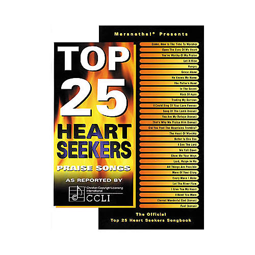 Maranatha! Music Top 25 Heart Seekers Book