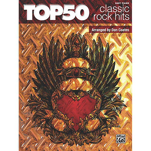 Alfred Top 50 Classic Rock Hits Easy Piano Songbook