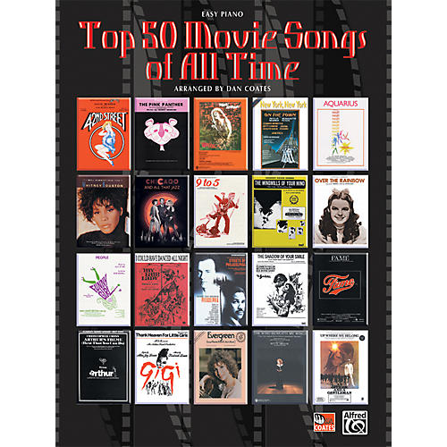 alfred top 50 movie songs of all time musician 39 s friend. Black Bedroom Furniture Sets. Home Design Ideas