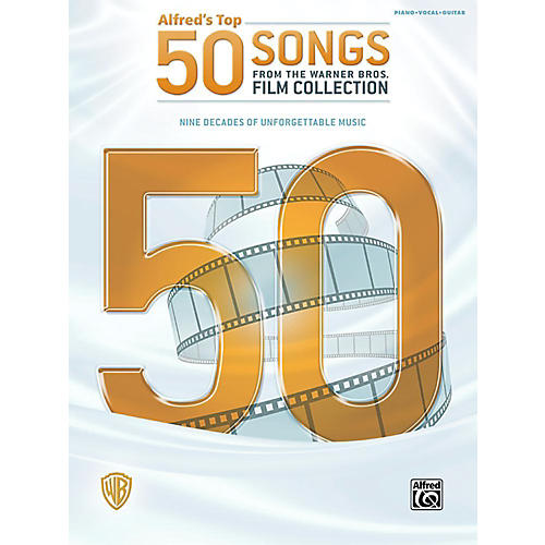 Alfred Top 50 Songs from the Warner Bros. Film Collection Piano/Vocal/Guitar Songbook-thumbnail