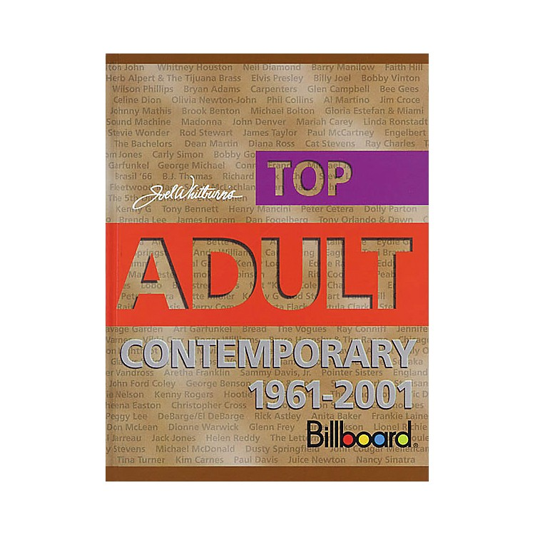 Record Research Top Adult Contemporary 1961-2001 Book