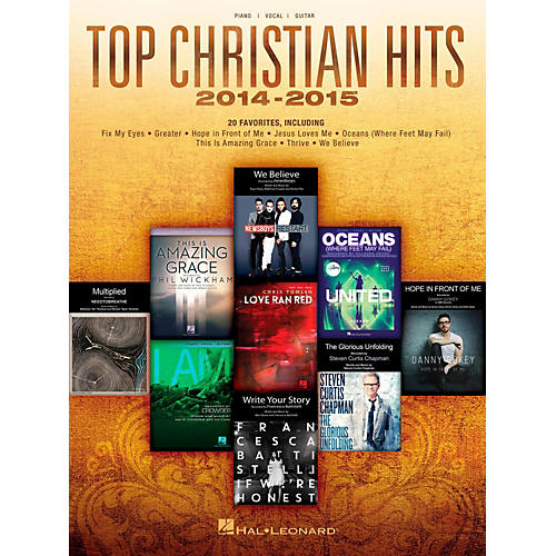 Hal Leonard Top Christian Hits 2014-2015 for Piano/Vocal/Guitar Songbook-thumbnail