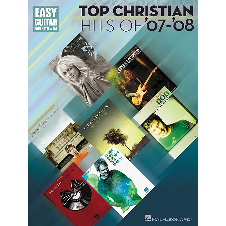 Hal LeonardTop Christian Hits Of '07-'08 Tab Songbook - Easy Guitar Series