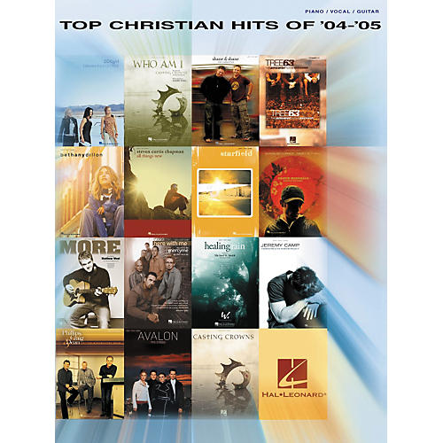 Hal Leonard Top Christian Hits of '04-'05 Piano/Vocal/Guitar Songbook