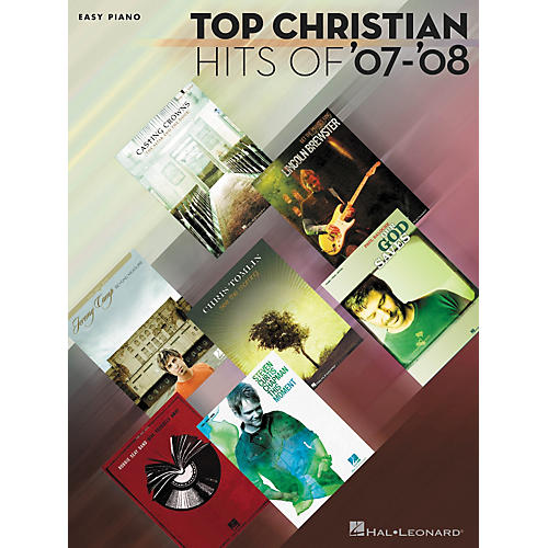 Hal Leonard Top Christian Hits of '07-'08 Easy Piano Songbook