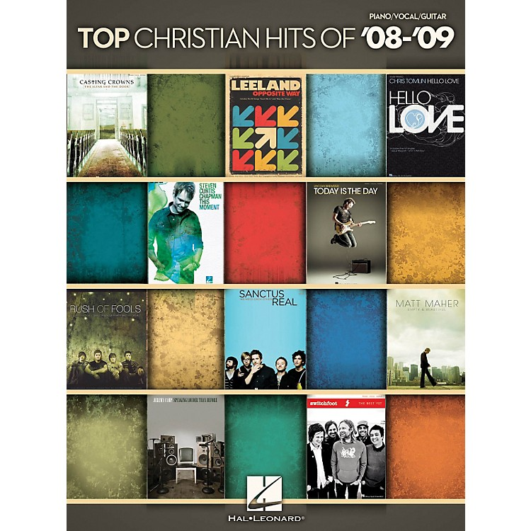 Hal Leonard Top Christian Hits of '08-'09 - Piano, Vocals, Guitar Songbook