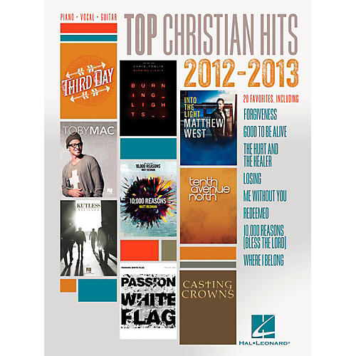 Hal Leonard Top Christian Hits of 2012-2013 for Piano/Vocal/Guitar PVG