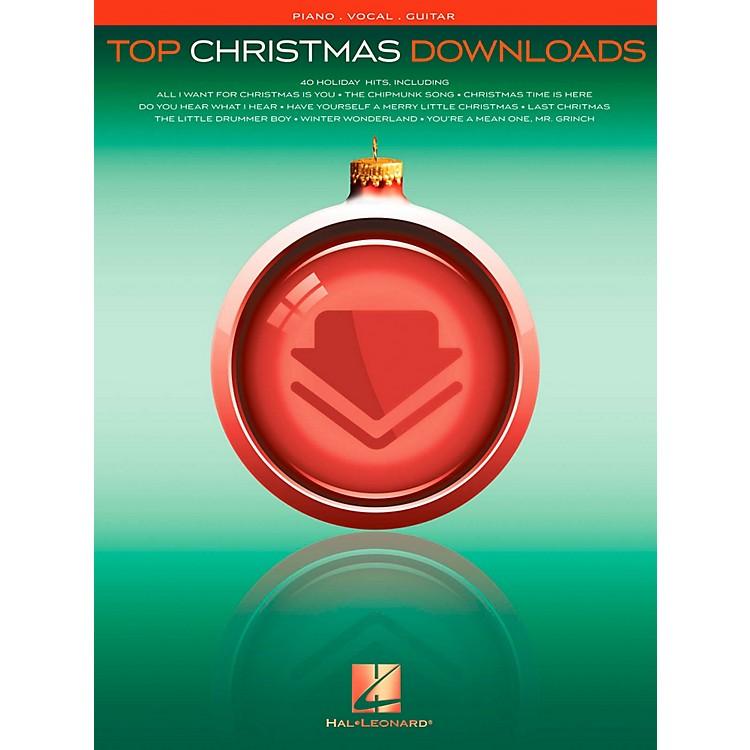 Hal LeonardTop Christmas Downloads for Piano/Vocal/Guitar (P/V/G)