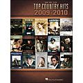Hal Leonard Top Country Hits Of 2009-2010 arranged for piano, vocal, and guitar (P/V/G)  Thumbnail
