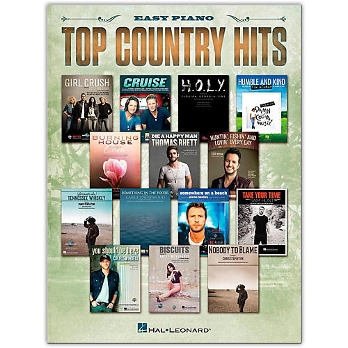 Hal Leonard Top Country Hits for Easy Piano-thumbnail