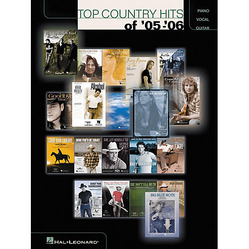 Hal Leonard Top Country Hits of '05-'06 Piano, Vocal, Guitar Songbook-thumbnail