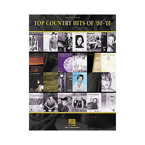 Hal Leonard Top Country Hits of 2000-2001 Songbook-thumbnail