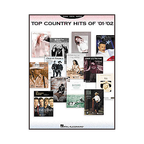 Hal Leonard Top Country Hits of 2001-2002 Songbook-thumbnail