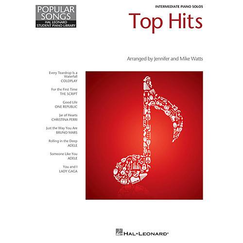 Hal Leonard Top Hits - Hal Leonard Student Piano Library Popular Songs Series Intermediate Level