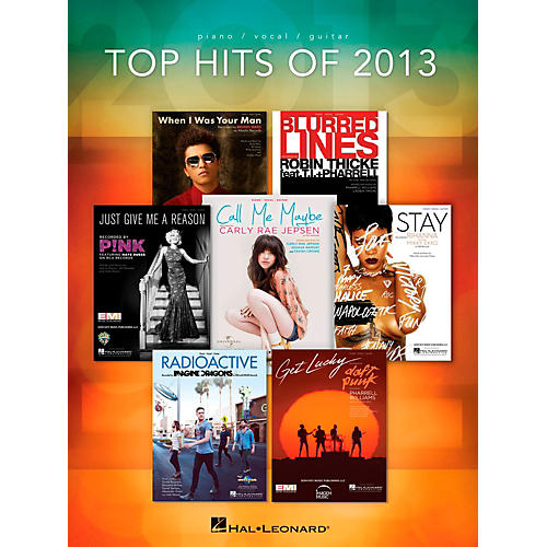 Hal Leonard Top Hits Of 2013 for Piano/Vocal/Guitar-thumbnail