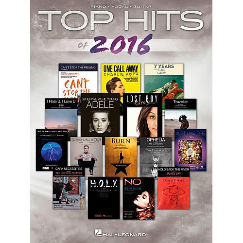 Hal Leonard Top Hits Of 2016 for Piano/Vocal/Guitar-thumbnail