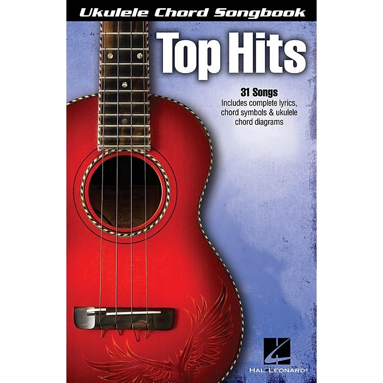 Hal LeonardTop Hits  Ukulele Chord Songbook