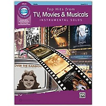 Alfred Top Hits from TV, Movies & Musicals Instrumental Solos for Strings Violin Book & CD, Level 2-3