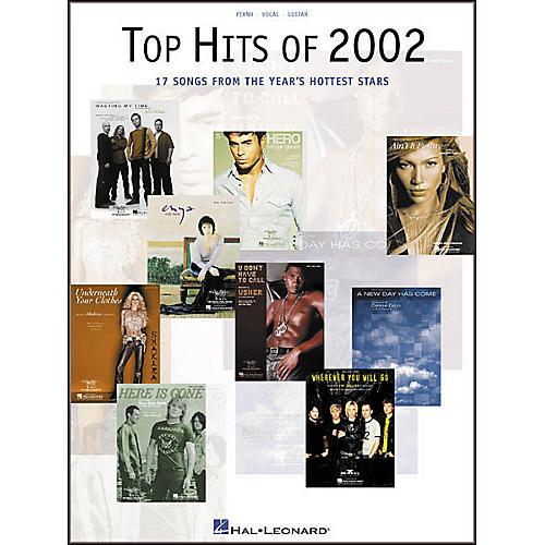 Hal Leonard Top Hits of 2002 Piano, Vocal, Guitar Songbook-thumbnail