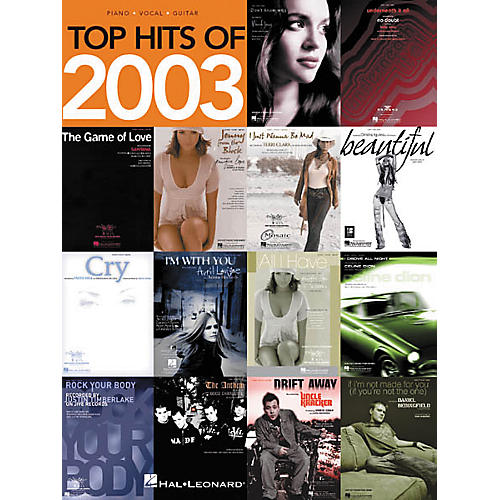 Hal Leonard Top Hits of 2003 Songbook-thumbnail