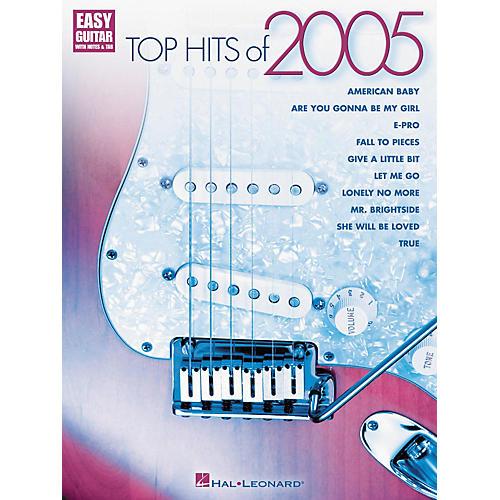 Hal Leonard Top Hits of 2005 for Easy Guitar (Book)-thumbnail