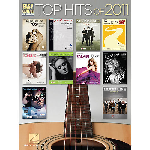 Hal Leonard Top Hits of 2011 Easy Guitar Songbook