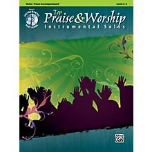 Alfred Top Praise & Worship Instrumental Solos - Violin, Level 2-3 (Book/CD)