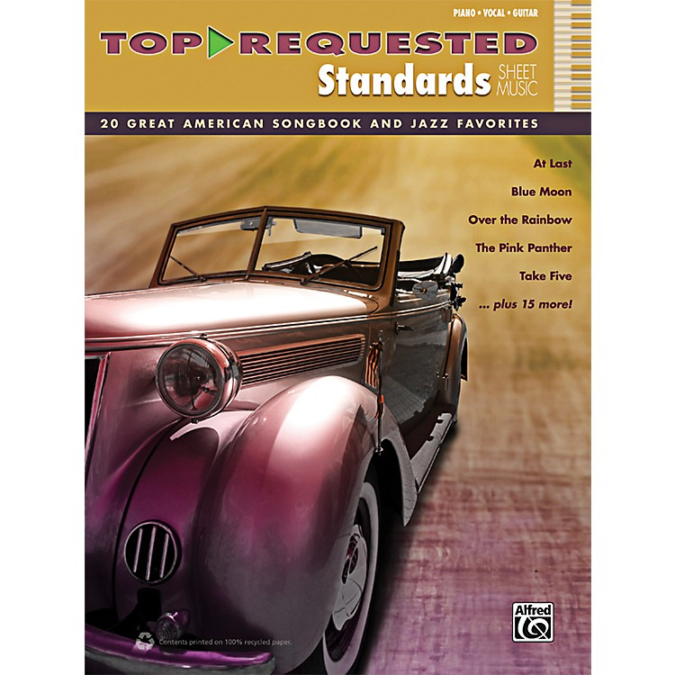 Alfred Top-Requested Standards Sheet Music P/V/G Book