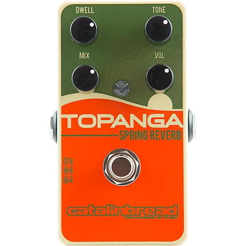 Catalinbread Topanga Spring Reverb Guitar Effects Pedal-thumbnail
