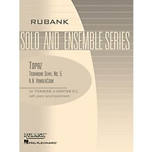 Rubank Publications Topaz (Trombone (Baritone B.C.) Solo with Piano - Grade 2) Rubank Solo/Ensemble Sheet Series