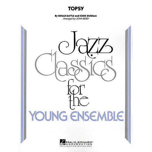 Hal Leonard Topsy Jazz Band Level 2 Arranged by John Berry-thumbnail