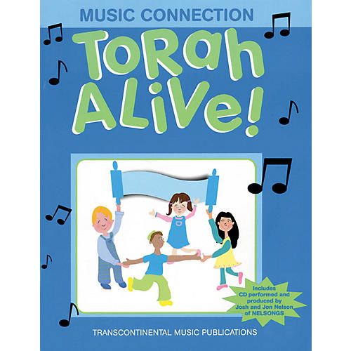Transcontinental Music Torah Alive! Music Connection Book and CD pak Arranged by Joel Eglash-thumbnail
